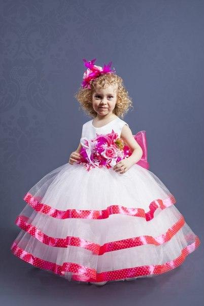 efd790b74b2aba4 Детские праздничные и нарядные платья для девочек. - 6 Декабря 2018 ...