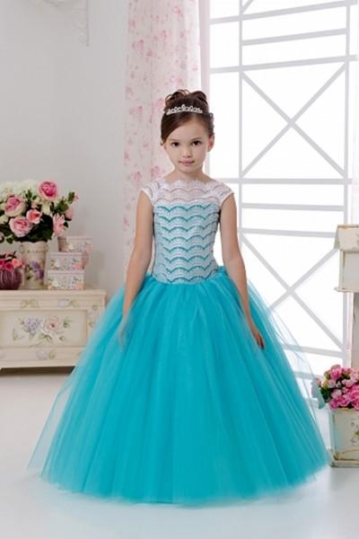 детское платье с корсетом фото